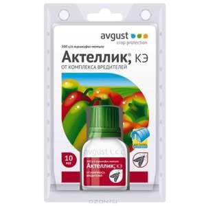 Инструкция по применению препарата Актеллик
