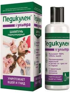 Обзор наиболее эффективных шампуней от гнид и вшей для детей