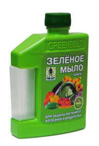Инструкция по применению зеленого мыла от вредителей