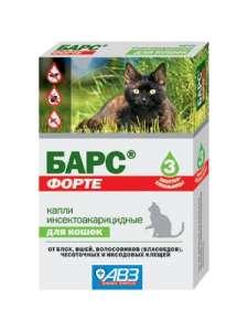 Капли Барс для кошек и собак
