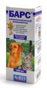 Шампунь от блох для кошек