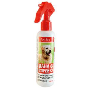 Спрей для собак от клещей