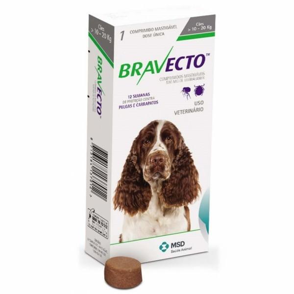 Жевательная таблетка Бравекто MSD (Bravekto) — Нидерланды