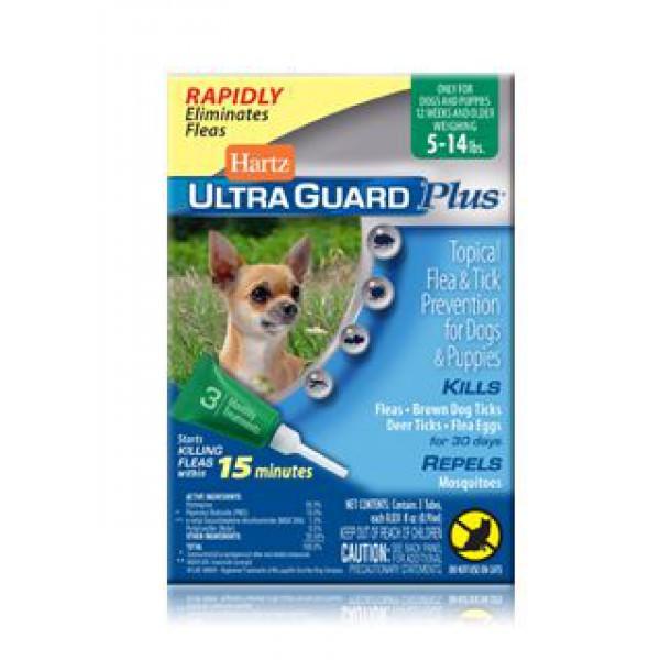Капли Hartz Ultra Guard Plus (Харц Ультра Гард плюс)