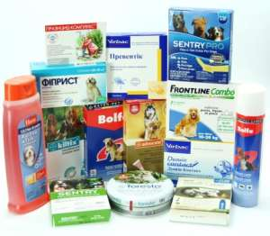 Эффективные средства для собаки от клещей